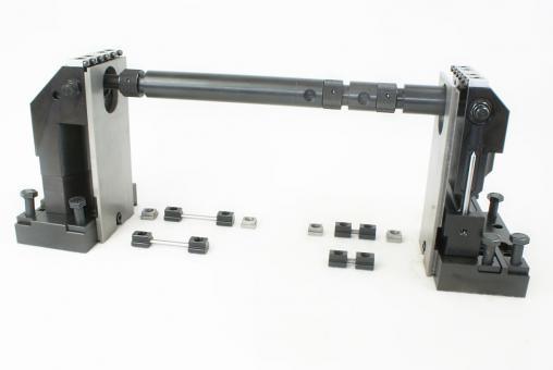 5-Achsspanner, Spannbreite: 100 mm, Spannhöhe: 225 mm